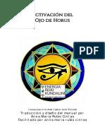 Manual Activación del Ojo de Horus - Anna