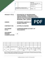 YET-AGRU-EXE-MEB-000-CMM-PRC-0001 COMM & START UP PHILOSOPHY