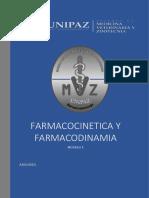 Farmacocinetica y farmacodinamia M1