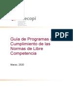 [ESPAÑOL] Guía de Programas de Cumplimiento de las Normas de Libre Competencia - CLC.docx