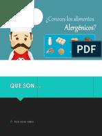 ALERGENOS EN ALIMENTOS. PG