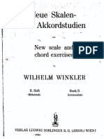WINKLER NEW SCALE AND CHORD EXERCISES