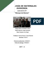 Lab01-Dureza