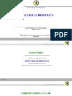 CLASE ESPECTRO DE RESPUESTA