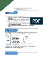 LG_PSHSCVC_Grade10_Physics2_Current, Resistance, Ohm's Law