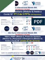 Mundo SIG - Protocolo Sanitario Ante Covid-19 - Curso Internacional Mundo SIG 002 - 02