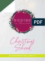 BBR Christmas Shred