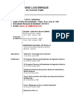 Curriculum actualizado Marzo 2011