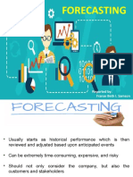 5-Forecasting_Its elements & steps