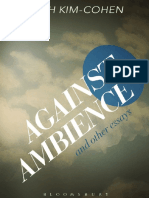 seth-kimcohen-against-ambience-and-other-essays