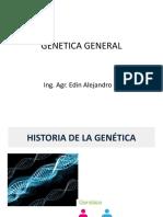 Historia de la Genetica