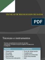 I-7 Tecnicas de recolecc datos
