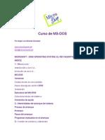 Manual MS-DOS Avanzado [40 paginas - en español]