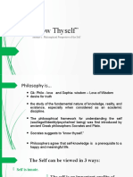 Module 1 Philosophical Perspectives of the Self.pptx