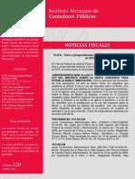 TFJFA /Tesis y Jurisprudencias de Noviembre y Diciembre