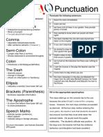 punctuation-worksheet