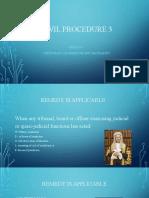 Civil Procedure Lecture 3