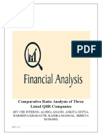 Comparative Ratio Analysis of Three Listed QSR Companies-2