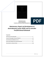 Maintenance, Repair and Development of Electrodynamic Exciter SG201 And It's Controller