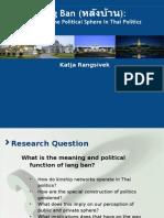 Area Studies PhD workshop