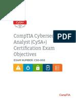comptia-cysa-cs0-002-exam-objectives