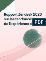 Les tendances 2020 en matière de relation client (Zendesk)