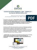 COAXIS SOFTWARE - CP - Vinitech-Sifel 2018