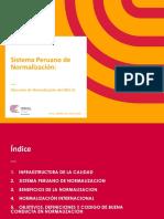 INACAL Sistema Peruano Normalizacion Julio 2015-CM