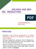 FLASH PYROLYSIS BTG-12-031 SHANMUGAPRIYA.G