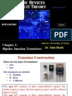 Chapter 3 - Bipolar Junction Transistor