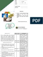 leaflet diet cair