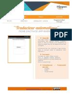 AppInventor traducteur automatique