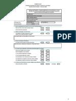 Informe de Verificación previa al inicio de la actividad (Formato OE-01) - PLAZA