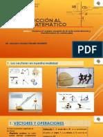 VECTORES EN EL PLANO, RECTA Y TRANSFORMACIÓN DE COORDENADAS [Autoguardado]