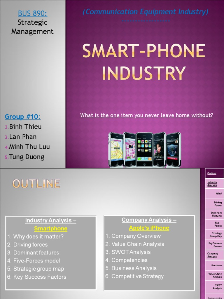 smartphone industry overview