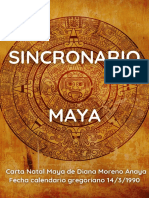 Sincronario Maya Aguila Resonante Azul