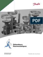 [2] Détendeurs thermostatiques