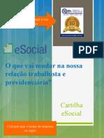Cartilha Novos Procedimentos eSocial Zenaide Carvalho