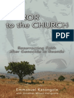 Mirror to the Church by Emmanuel Katongole, Excerpt
