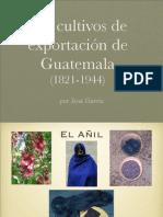 Agricultura de Guatemala 1821-1944