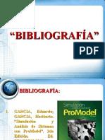 Busqueda de Informacin bibliografica - Simulacion