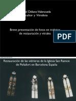Fotos Restauración de vitrales