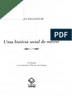 A ascensão e a propagação das cidades. Uma história social do morrer. KELLEHEAR, Allan.