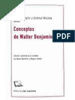 Conceptos de Walter Benjamin (Historia)