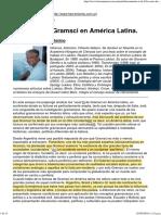 Antonino Infranca - Los usos de Gramsci en América Latina.