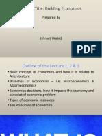 Econ -lecture - 1