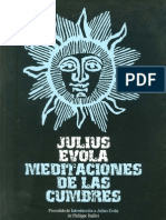 evola julius - meditaciones de las cumbres