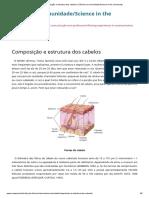 Composição e estrutura dos cabelos _ Ciência na comunidade_Science in the community
