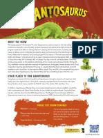 Gigantosaurus Series Press Release