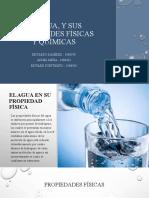 Presentacion Quimica II Grupo 7 del Agua